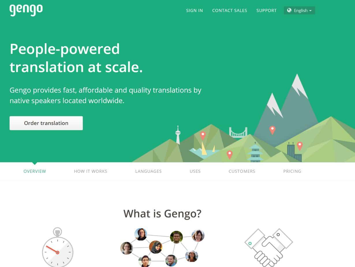 Gengo WordPress vertalingen