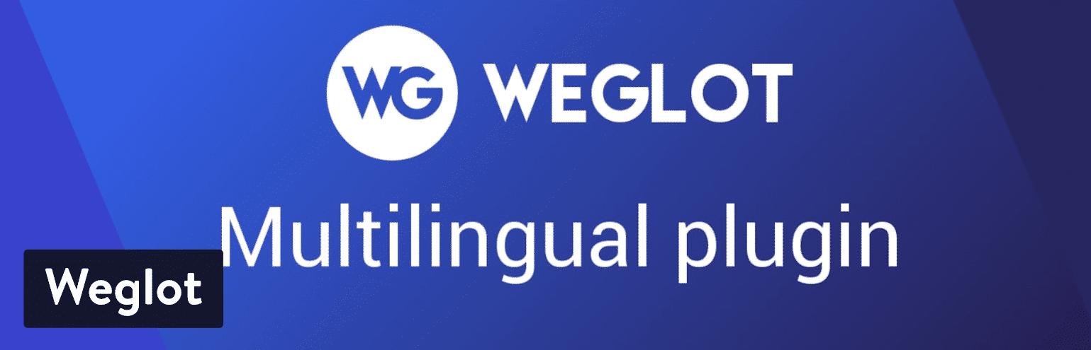 Weglot Meertalige WordPress plugin