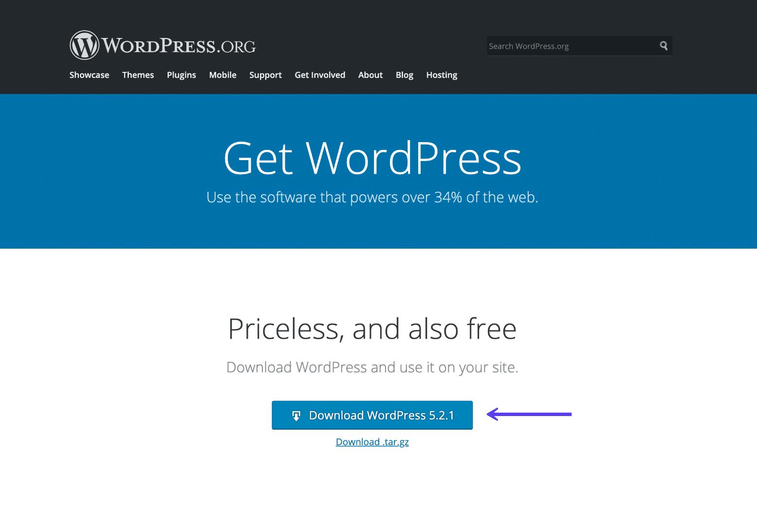 De nieuwste versie van WordPress downloaden