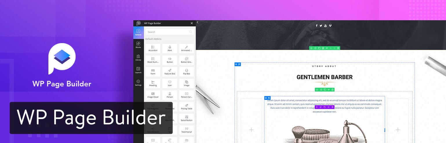 WP Page Builder-plug-in