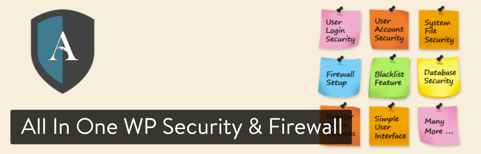 All In One WP Security & Firewall plug-in
