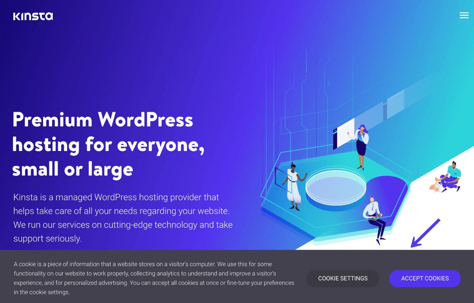 WordPress plug-in voor aangepaste cookie consent