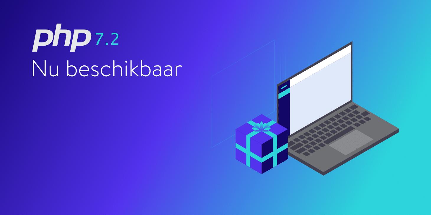 PHP 7.2 Nu beschikbar