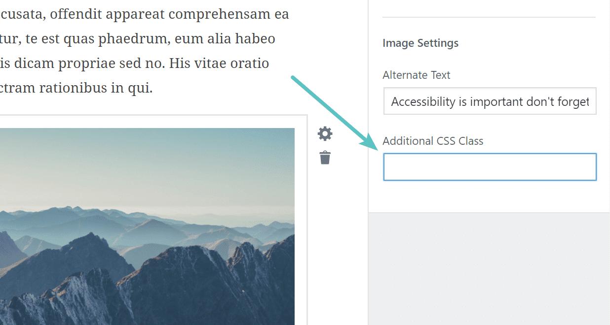 Toevoegen CSS class