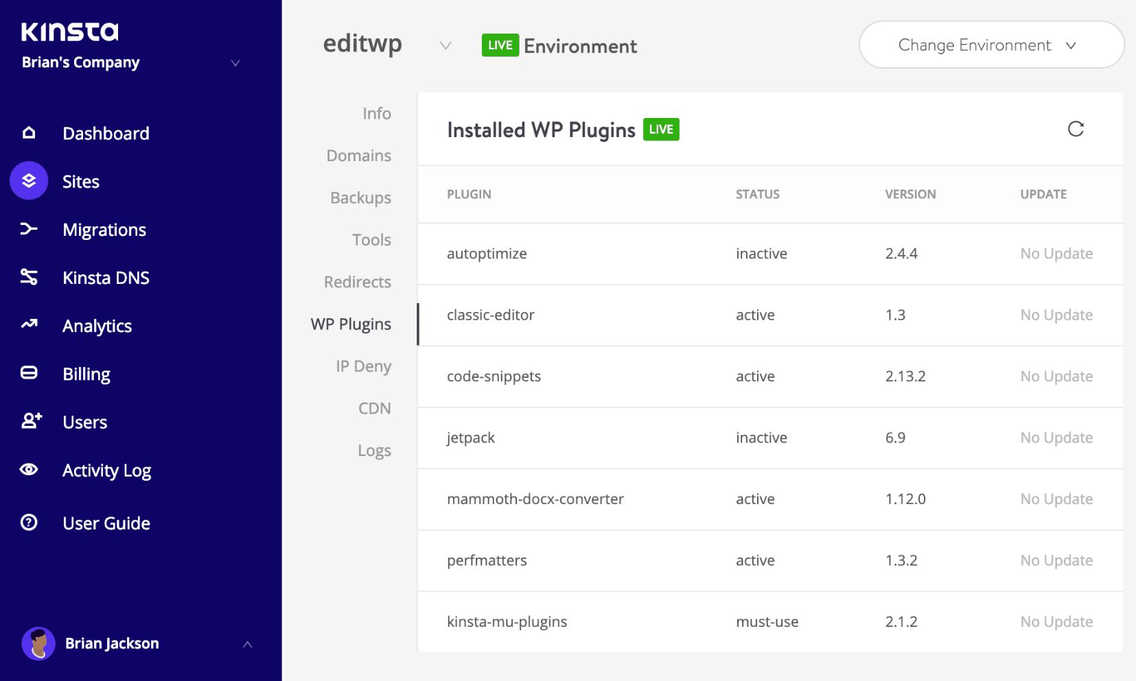 WordPress lijst met plug-ins