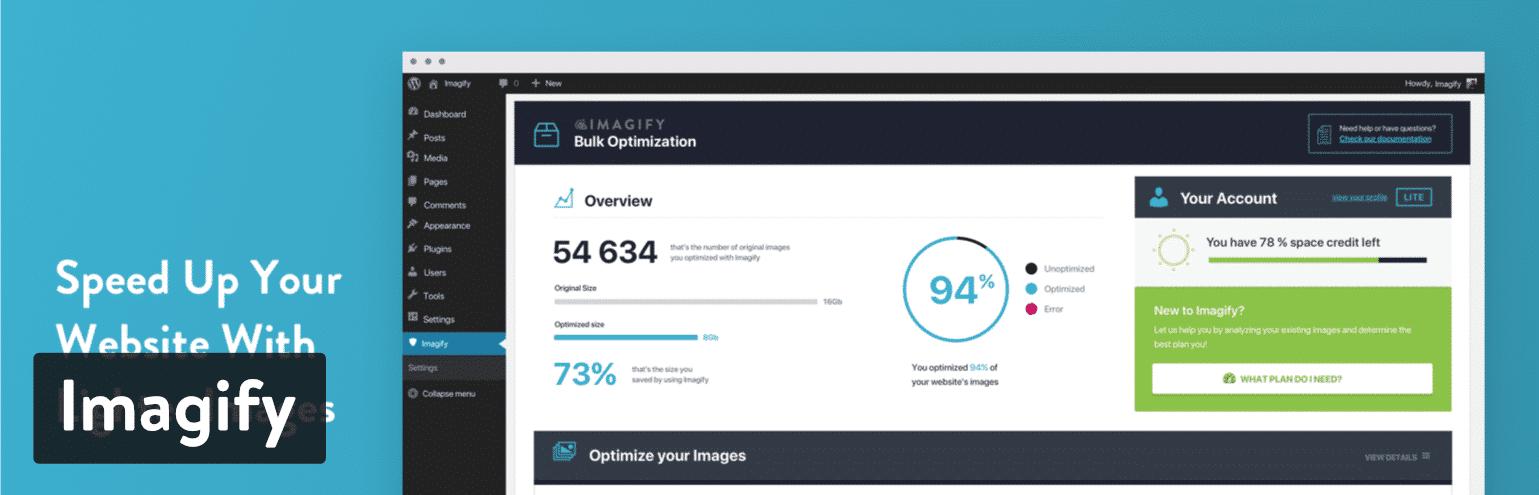 Imagify WordPress plug-in
