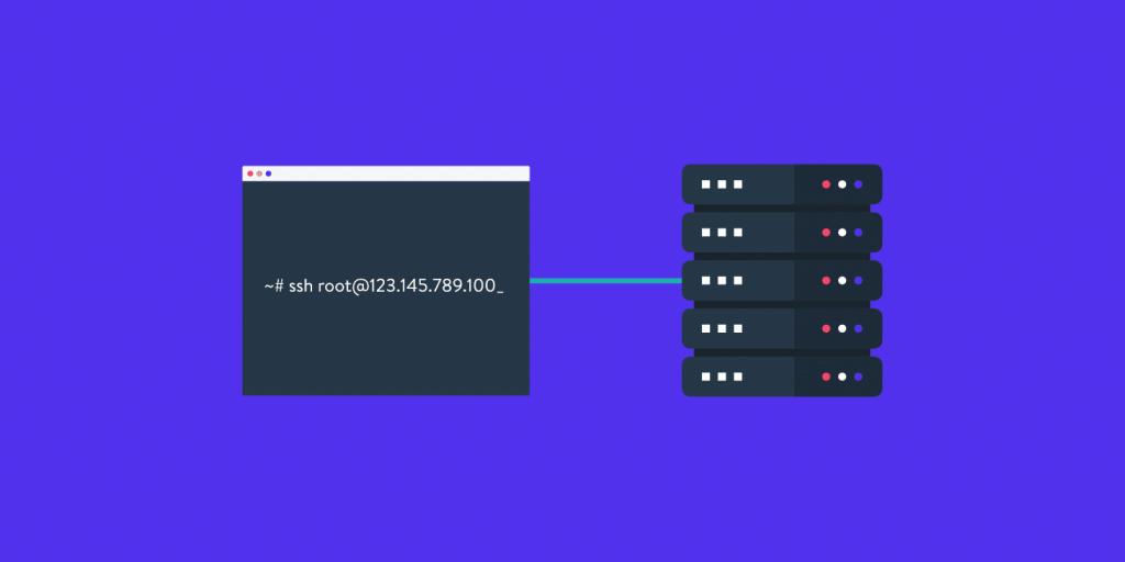 Verbinding met SSH