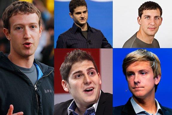 Oprichters van Facebook