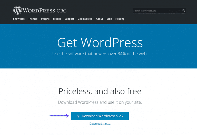 WordPress downloaden