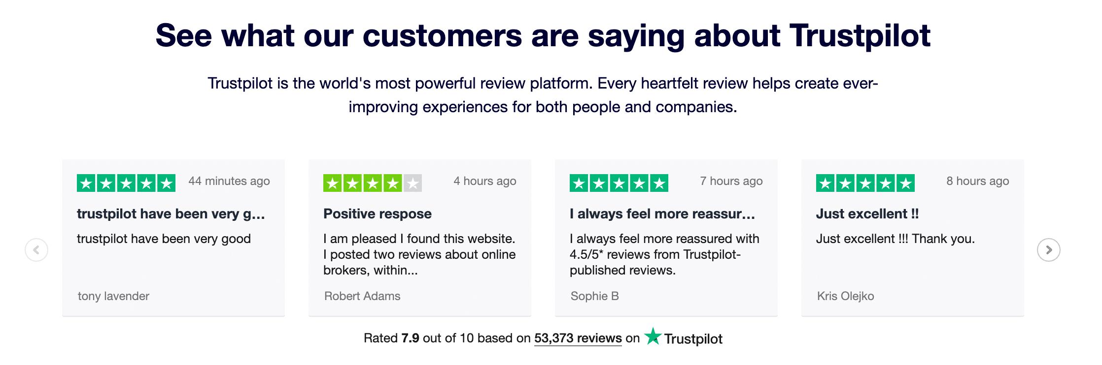 eCommerce klant beoordelingen