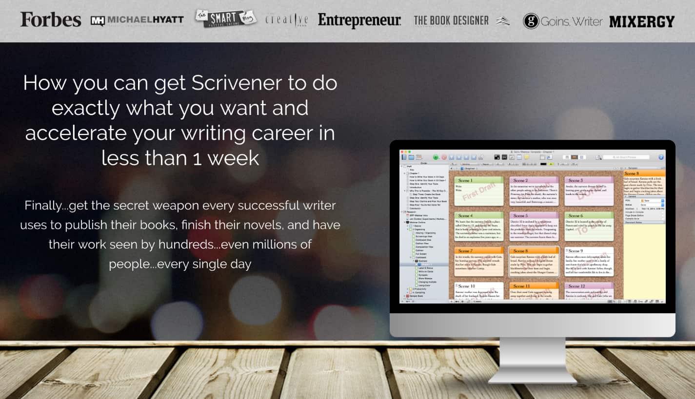 Scrivener cursus