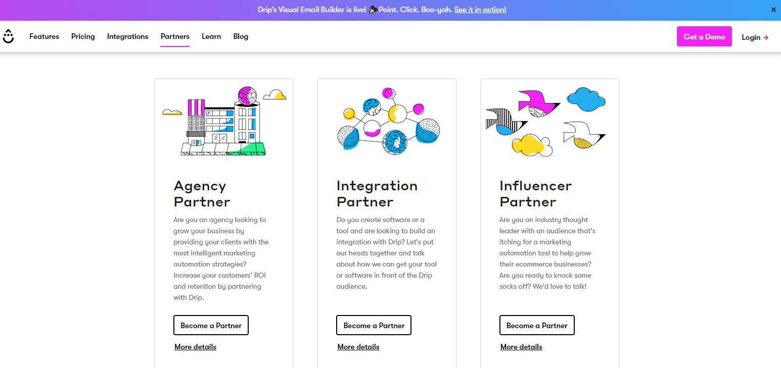 Influencerprogramma van Drip