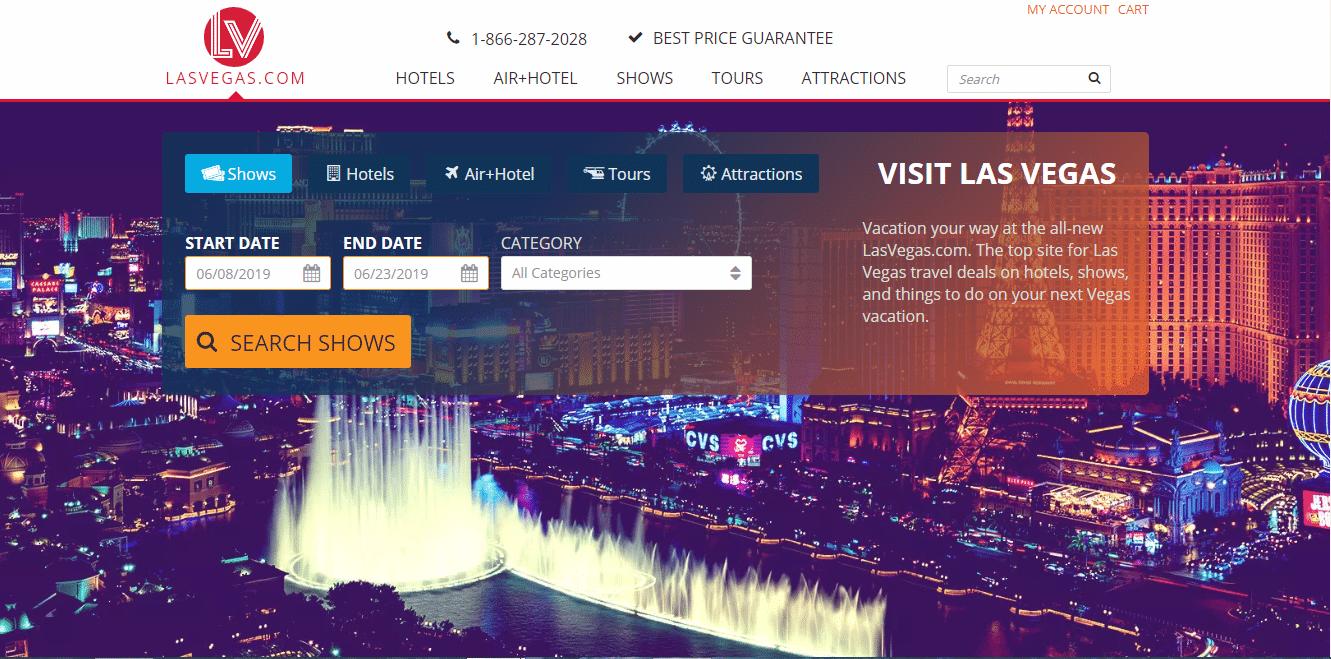 Lasvegas.com domein