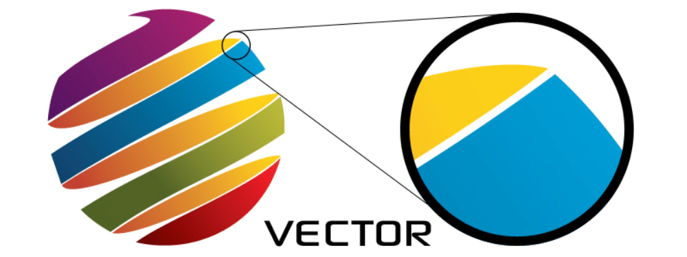 jpg vs jpeg: vector afbeelding voorbeeld