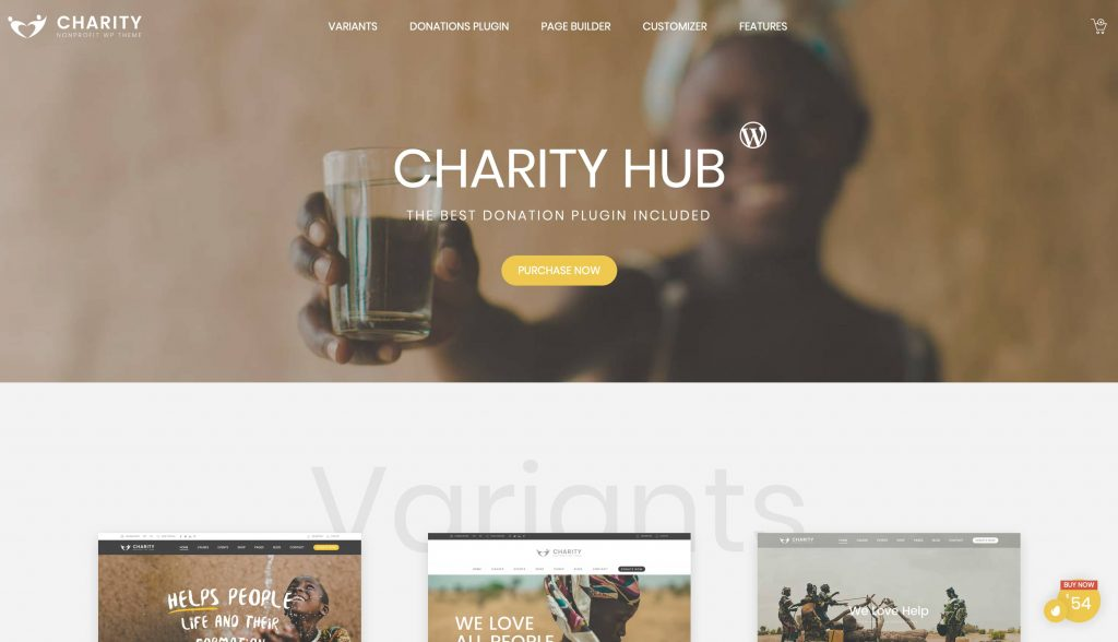 Charity Foundation-thema