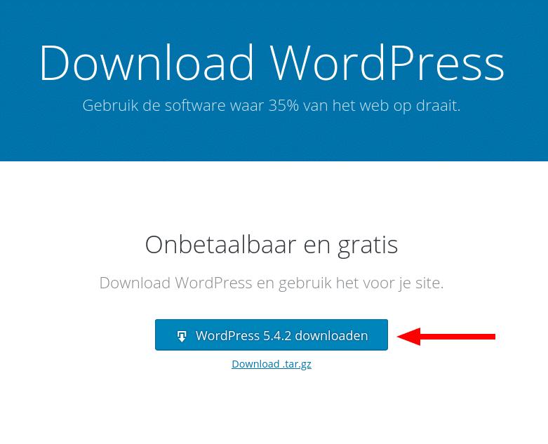 WordPress downloaden