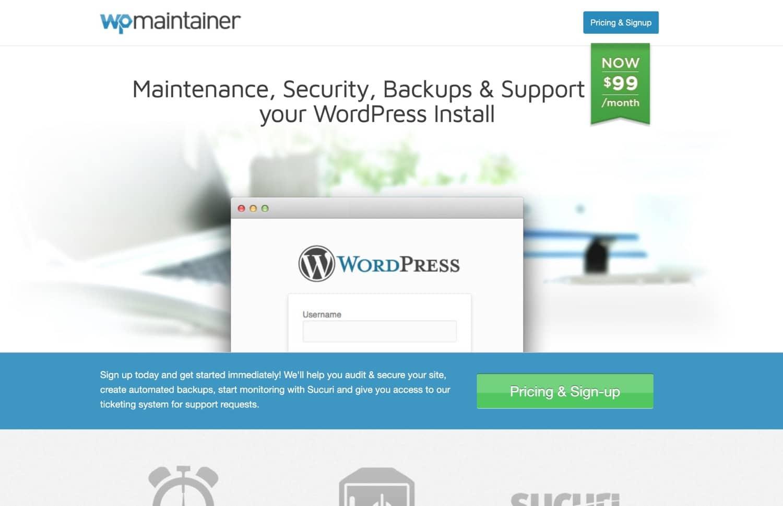 WPMaintainer