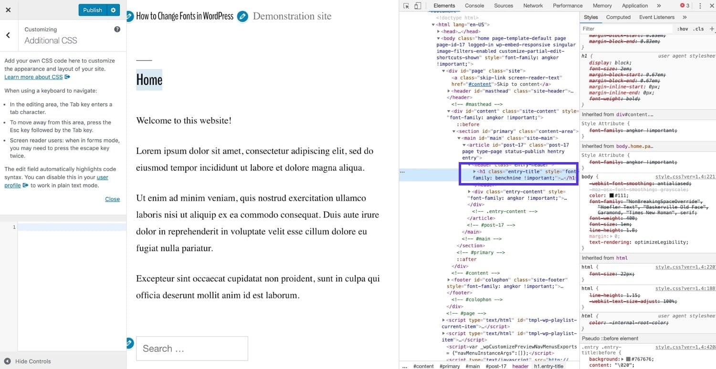 Het inspecteren van je code in Chrome
