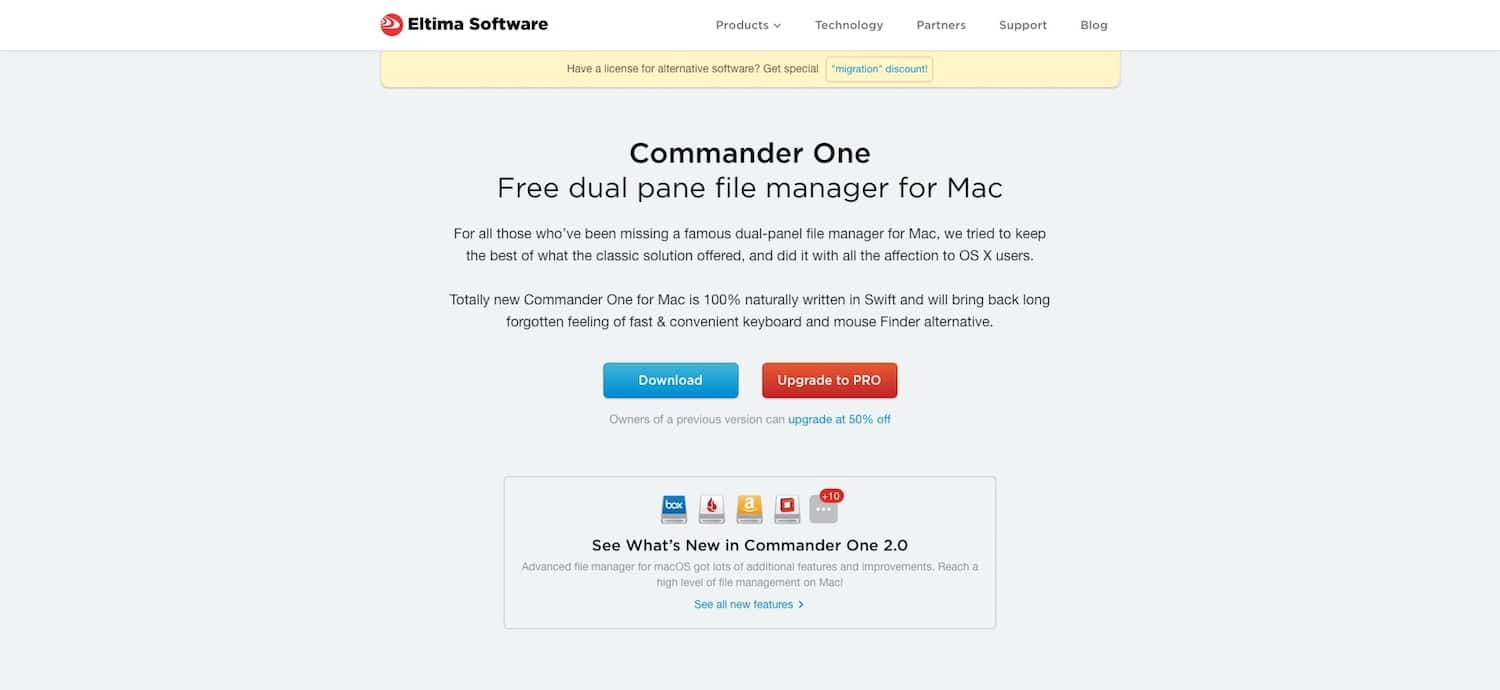 Beste FTP-clients: Commander One