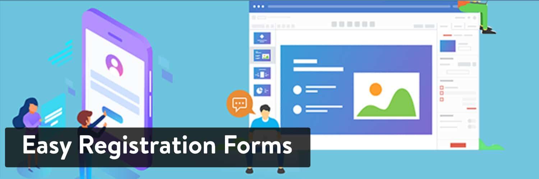 Easy Registration Forms WordPress plug-in