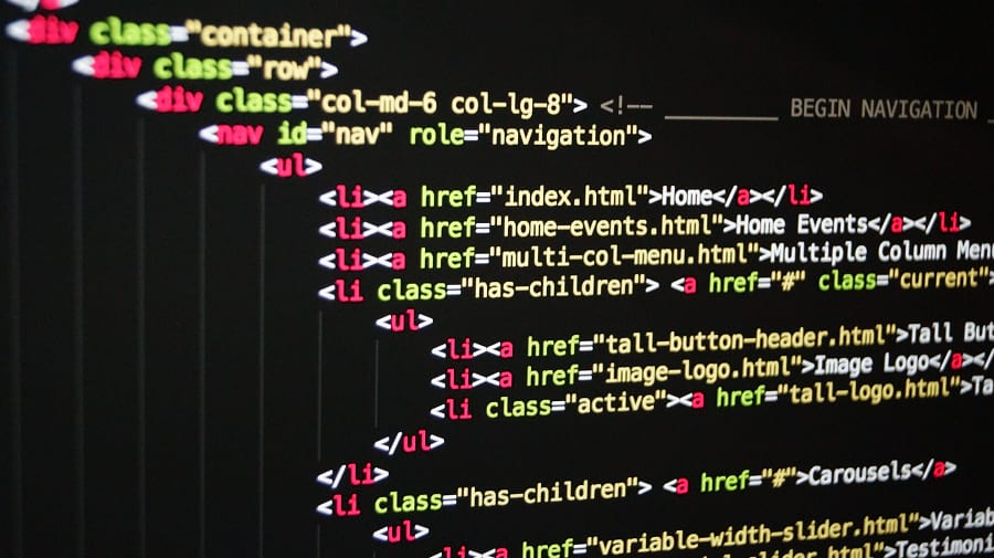 Codefragment HTML