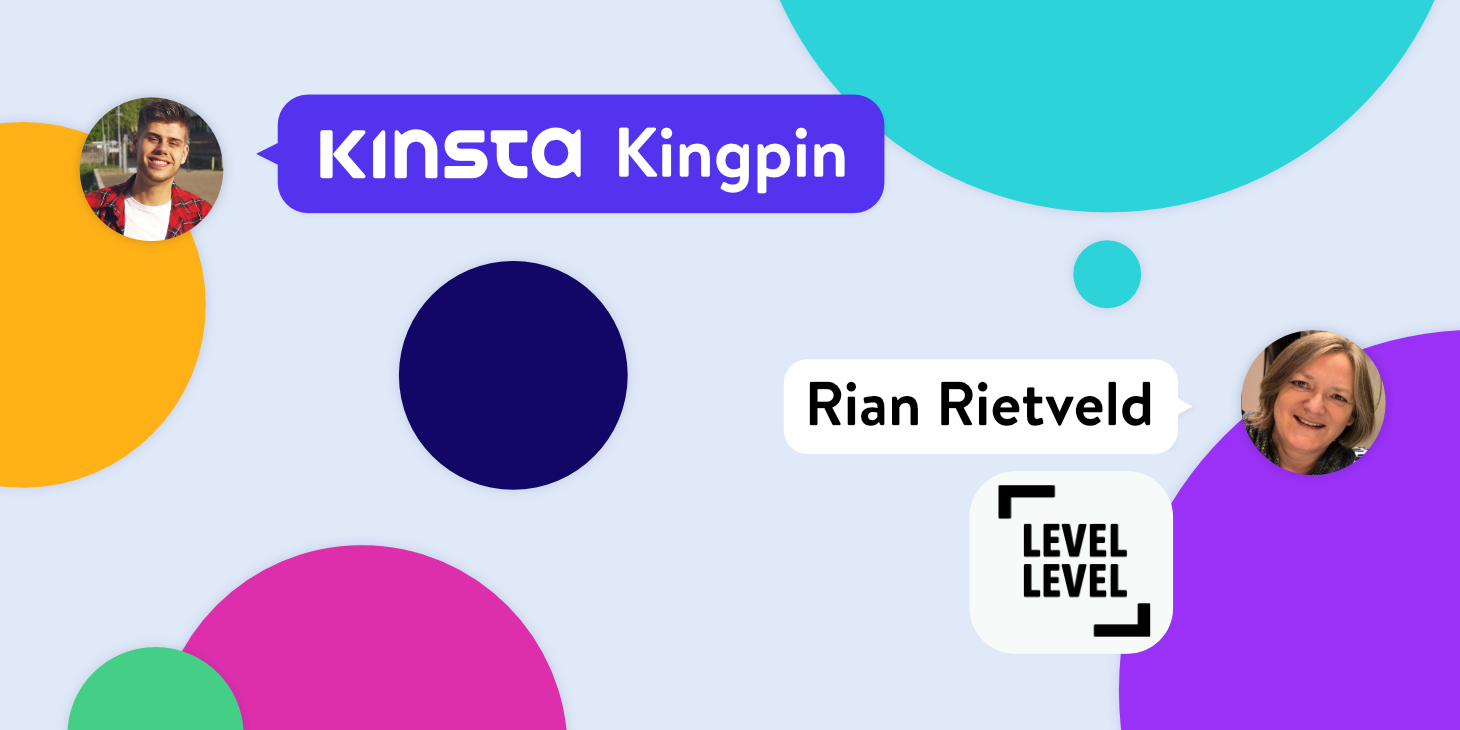 Kinsta Kingpin interview met Rian Rietveld