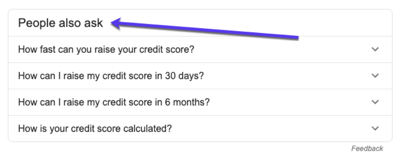 De People Also Ask box van Google gebruiken voor onderzoek