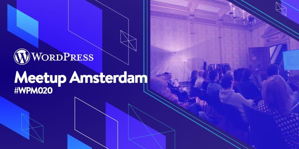 WordPress meetup Amsterdam