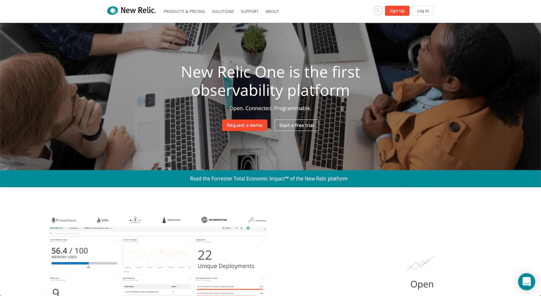 SaaS-producten: New Relic