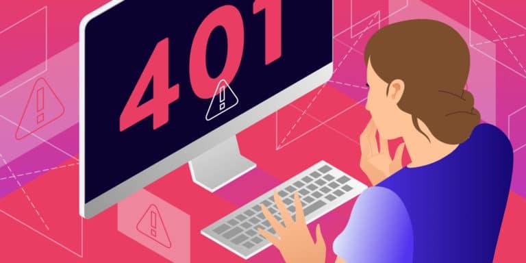 Zo los je snel de foutmelding 401 Unauthorized op