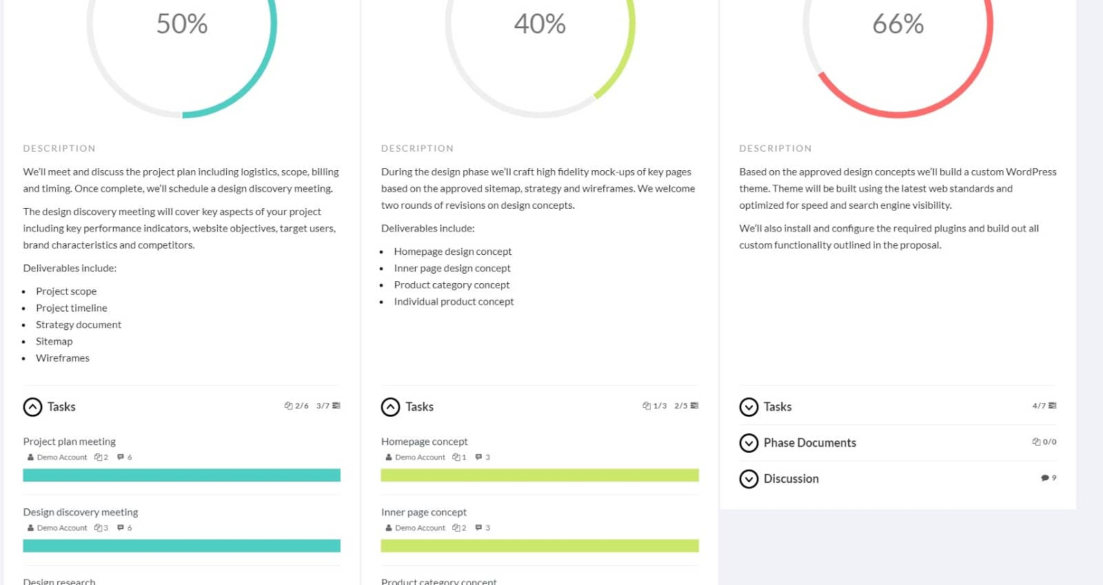 Panorama's UI