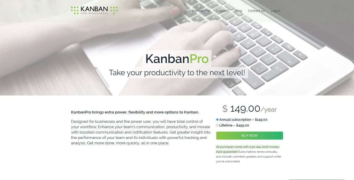Prijzen voor KanbanPro