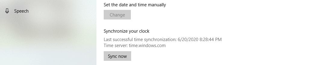 Synchroniseer de klok van je computer
