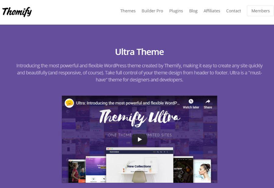 themfy - WordPress membership theme