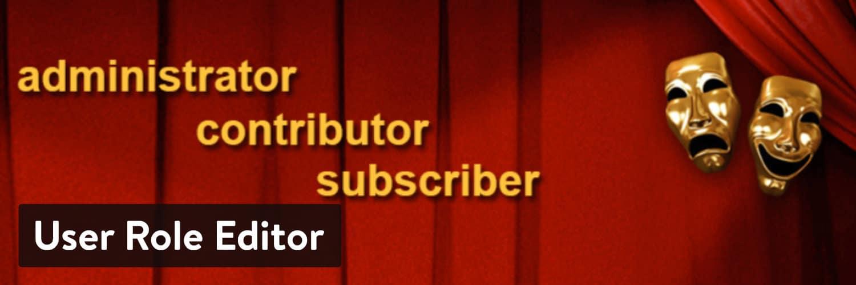 De 'User Role Editor' WordPress plugin