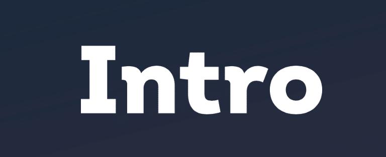 Modern fonts: intro