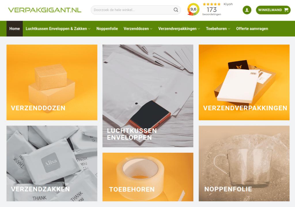 verpakgigant website