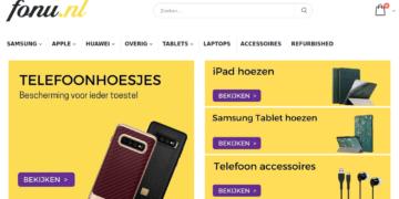fonu.nl screenshot