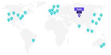 Het datacenter in Delhi is nu beschikbaar