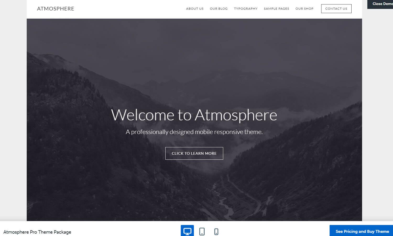 Atmosphere Pro captura de tela