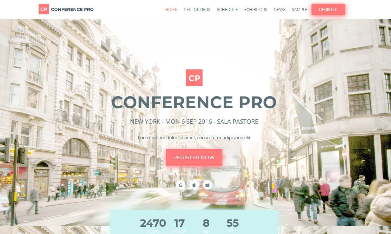 Conference Pro captura de tela