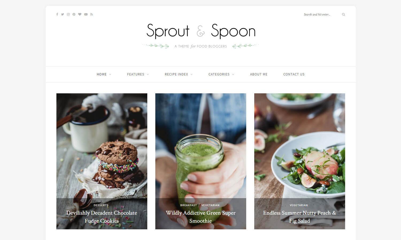 Sprout and Spoon captura de tela