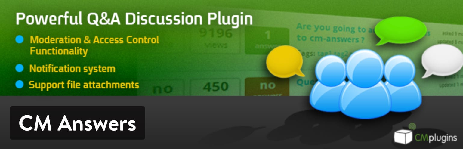 Plugin CM Answers WordPress