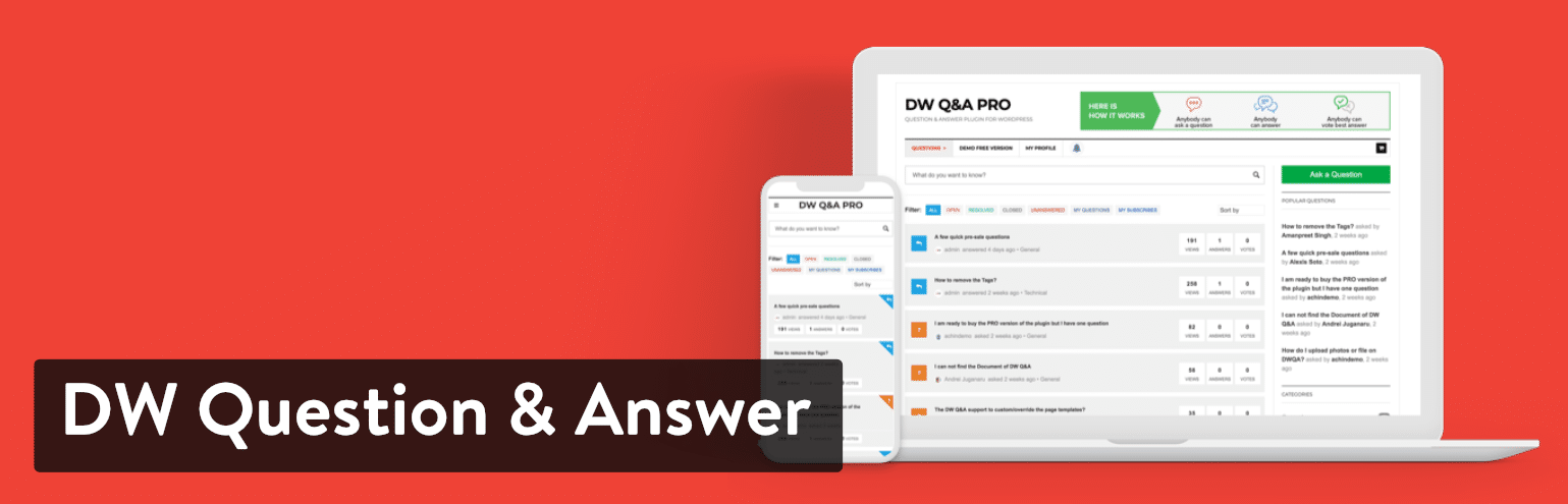 Plugin DW Question & Answer