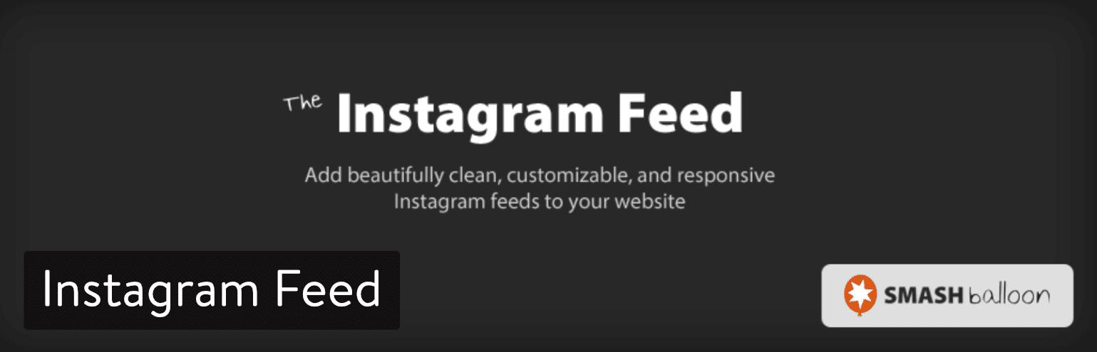 Plugin de Instagram Feed
