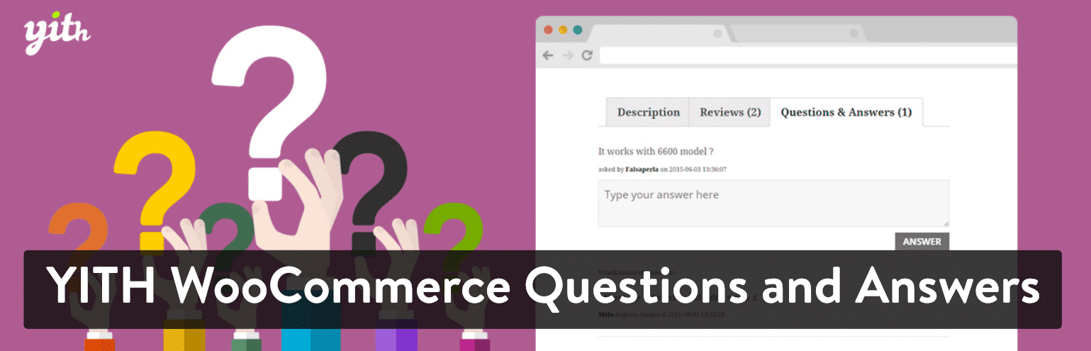 Plugin YITH WooCommerce Questions and Answers