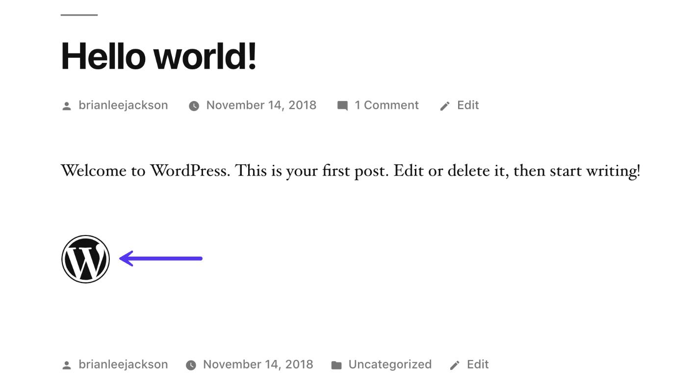 Exemplo de fonte fantástica no WordPress 5.0