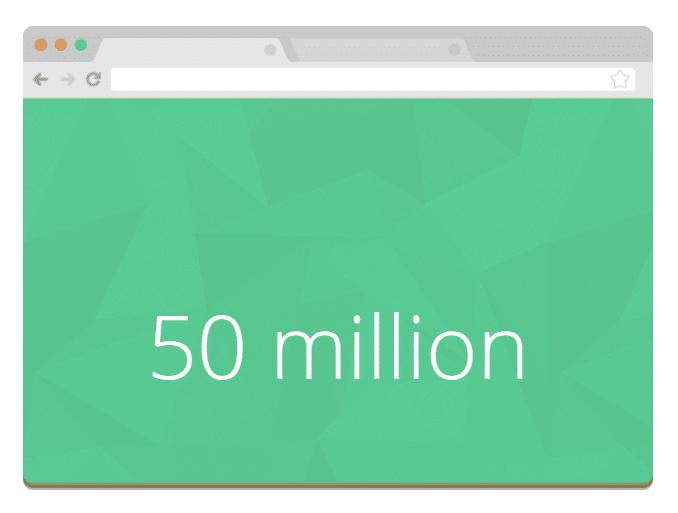 50 milhões de blogs WordPress