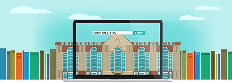 biblioteca WordPress