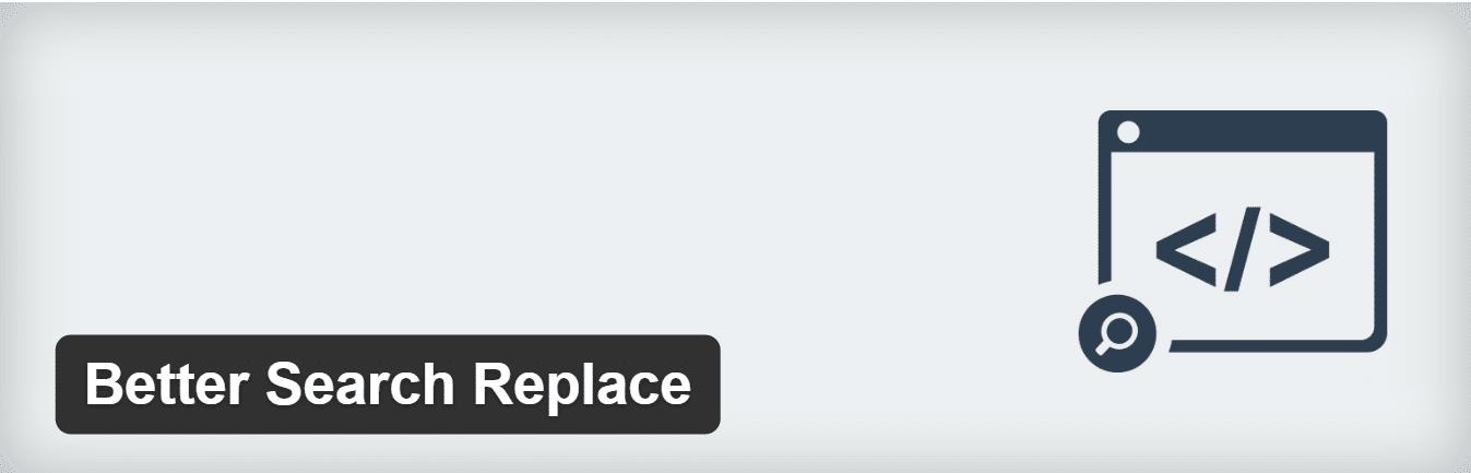 Better search WordPress replace